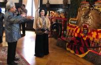 Istri Panglima TNI Kunjungi KBRI di Amerika Serikat