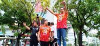 Anies Tutup Pawai Kemenangan Persija di Gedung Sarinah