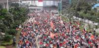 Fakta Pawai Persija: Kolam Balkot Ditutup hingga Janji Anies Bangun Stadion