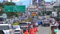 Polisi Waspadai Kemacetan Arus Mudik Natal usai Longsor di Gentong dan Puncak