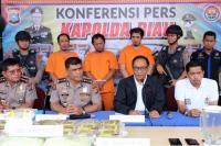 Polres Bengkalis Amankan Kapal Berisi 37 Kg Sabu, Pelaku Ternyata Mantan Sipir