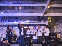 Meriahnya Nobar Debat Pilpres 2019 di Rumah Aspirasi Jokowi-Ma'ruf Amin