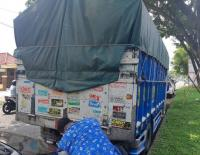 3,5 Ton Tembakau Ilegal Disita dari Truk Tanpa Sopir di Malang