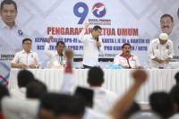 Beri Pembekalan, Hary Tanoe Serukan Caleg Perindo Aksi Nyata & Perangi <i>Hoax</i>