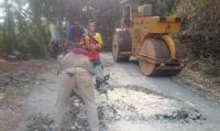Sepanjang 319,9 Km Jalan di Pangandaran Dalam Kondisi Rusak