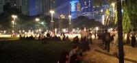 Peserta Nobar Debat Capres di Senayan Diminta Menjauh dari Lokasi Ledakan
