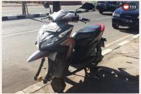 Viral Ban Sepeda Motor Diganti Donat karena Parkir Sembarangan