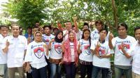 Caleg Perindo Silaturahmi dengan Ratusan Ibu-Ibu Majelis Taklim di Bekasi