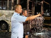 Bus Terbakar, PT Transjakarta Pastikan Tak Ada Korban