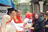 Terbantu dengan Bazar Murah, Warga Karawang: Perindo Mewakili Rakyat Kecil