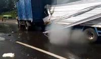 5 Kendaraan Terlibat Kecelakaan Beruntun di Tol Purbaleunyi, 3 Orang Terluka