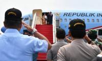 Jokowi Bersama Iriana ke Singapura Jenguk Ani Yudhoyono