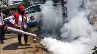 Caleg Perindo Gelar Fogging Gratis di Perumnas Martubung Medan