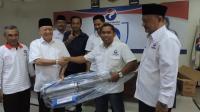 Marak DBD, Caleg Perindo Siswadi Selodipoero Bagikan Tiga Alat Fogging