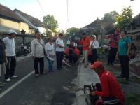Bersinergi dengan Dinas Kesehatan, Rescue Perindo Bali Lakukan <i>Fogging</i> di Gianyar