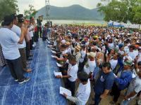 Ribuan Pembudidaya Ikan KJA Jatiluhur Kuatkan Komitmen Menangkan Jokowi-Ma'ruf