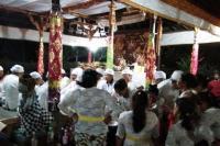 """Guratan Mirip Sisik Naga Ditemukan, Warga Tabanan Gelar Ritual """"Wewidian"""""""