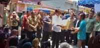 Jokowi Gelontorkan Rp1,45 Miliar untuk Perbaiki Rumah Rusak Akibat Bom Sibolga