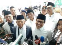 Kiai Ma'ruf dan Cak Imin Bicara Pemenangan Paslon 01 di Jawa Timur