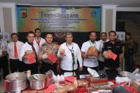 BNN Bongkar Produksi Tembakau Gorila yang Dilakukan Pelajar SMA di Bandung