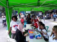 Caleg Perindo Gelar Bazar Murah dan Pemeriksaan Kesehatan Sebagai Bentuk Kepedulian