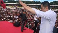 Hary Tanoe Berjalan 3,5 Km saat Kampanye Akbar, Warga: Merakyat Kayak Jokowi