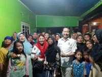 Caleg Perindo Sosialisasi Programnya di Bekasi, Warga Keluhkan Sulit Dapat Pekerjaan
