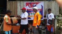 Perindo Berikan Bantuan kepada Korban Banjir di Kampung Yongsu Sentani