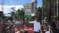 Kampanye di Banyuwangi, Jokowi: 17 April Nanti Ajak Semua ke TPS Jangan Golput