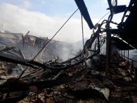 13 Jam Membara, Api di Pasar Lawang Berhasil Dipadamkan