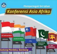 Cerita 64 Tahun Konferensi Asia Afrika Pertama di Bandung