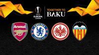 Jadwal Semifinal Liga Eropa 2018-2019