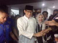 Usai Salat di Masjid, Sandiaga: Alhamdulillah Kondisi Saya Sudah Jauh Lebih Baik