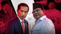 <i>Real Count</i> KPU 7,2 Persen, Jokowi-Ma'ruf 54,53% & Prabowo-Sandi 45,47%