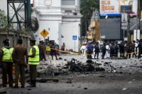 Momen Pasukan Khusus Sri Lanka Meledakkan Bom Mobil