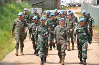 Kunjungan Spainbatt ke Markas Indobatt Pererat Silaturahmi dan Kerja Sama Satgas UNIFIL