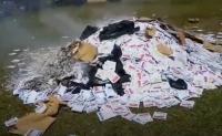 Kapolres Puncak Jaya Klarifikasi Video Viral Pembakaran Surat Suara