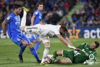 Skor Kacamata Akhiri Babak Pertama Getafe vs Madrid