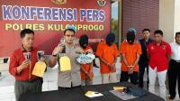 3 Pelaku Pencurian Rp505 Juta di Kulonprogo Ditangkap saat Ngumpul Rencanakan Aksi Selanjutnya