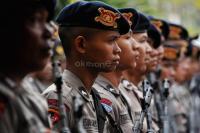 TNI-Polri Tak Bawa Senjata Api saat Amankan Pengumuman Pemilu 2019