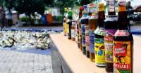 Satpol PP Tangerang Sita 250 Botol Miras dalam Razia Selama Ramadan