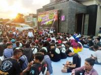 Ribuan Pemuda hingga Akademisi di Ciamis Tolak Aksi People Power dan Sepakat Damai