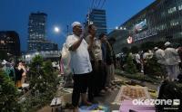 Polisi Buka Jalan MH Thamrin Tunggu Massa Aksi 21 Mei Bubar