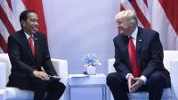 Ucapkan Selamat kepada Presiden Jokowi, Trump: Indonesia Patut Jadi Contoh Demokrasi Dunia