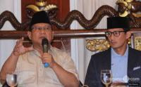 BPN Prabowo-Sandi Sampaikan Gugatan ke MK Besok