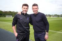 Jelang Final Liga Champions, David Beckham Hadir di Sela-Sela Latihan Tottenham