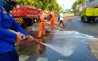 Pemprov DKI Mulai Perbaiki Fasilitas Umum yang Rusak karena Aksi 22 Mei