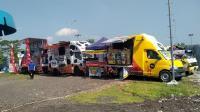 Manjakan Pemudik, Rest Area Ini Sediakan Food Truck Festival