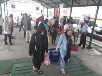 351 TKI Ilegal di Malaysia Dideportasi ke Nunukan