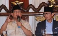 Prabowo-Sandi Dinilai Sulit Memenangkan Gugatan Pilpres di MK